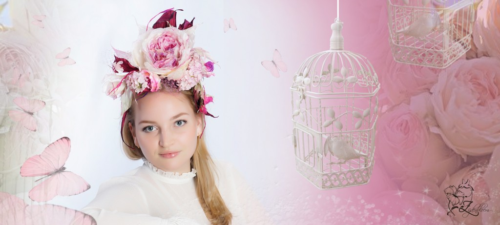 angliskaya roza , fascionator